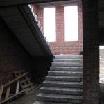 Лестницы получились классные. Широкие и светлые.