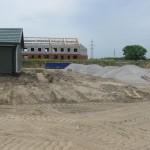 Начали наконец готовить фундамент для реконструкции цеха химводоподготовки..