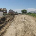 Начали строить проезд с Квашнина на Туманова мимо ХВП,