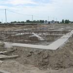 Озерная 3А бетонная подготовка готова!