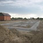 Озерная 6а готова принимать бетон в подготовку.