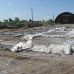 Парковая 17 закончили готовить бетонную подготовку
