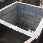 Подземная камера для раздачи воды на 2, 3, 4 и 5-ю очередь. Учитывая опыт прошлых лет, водоводы запроектировали на глубину 3,5 метра