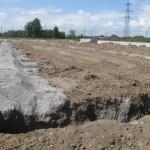 Туманова 5 заканчивается замена грунта в основании