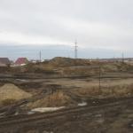 Горка ждет начала работ по разработке грунта в пруду. Дополнительный объем земли поднимем из пруда и насыпем на горнолыжку.