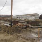 Озерная 8 готовим фундаменты по зимней технологии