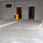 Выполнена стяжка первого этажа