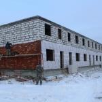 Вадима Туманова, 5 – Смонтировано перекрытия 2-го этажа. Выходим на третий. Планируем запараллелить работы каменщиков и кровельщиков.