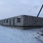 Озерная, 6а – Подняли первый этаж. Готовимся к приему бетона в армопояс