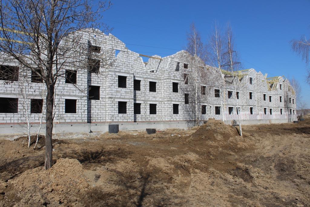Вадима Туманова, 1а. Вид на главный фасад.