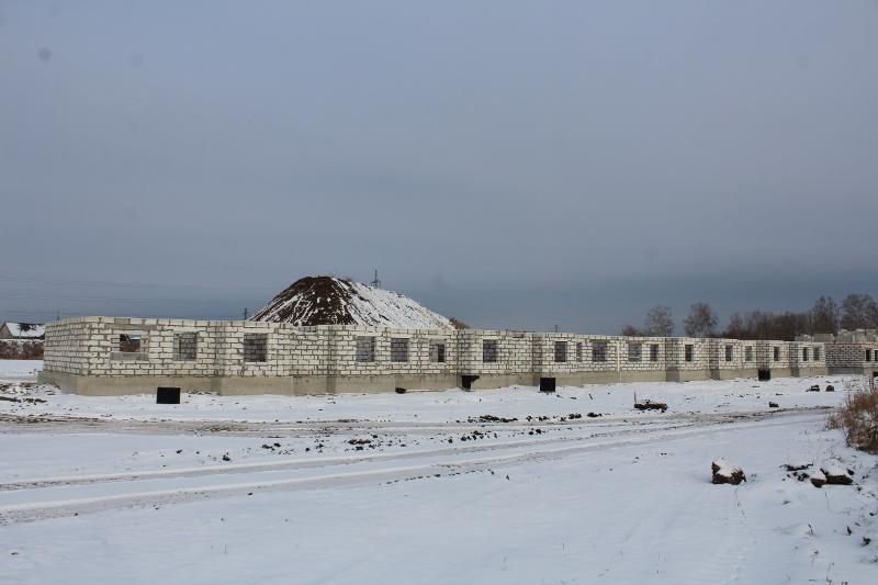 Квартал Согласия, 2. Совсем скоро на неё зайдут бетонщики.