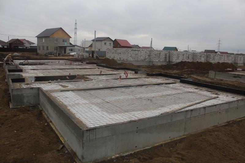 Квартал Согласия, 5. Готов принять бетон для устройства пола первого этажа.