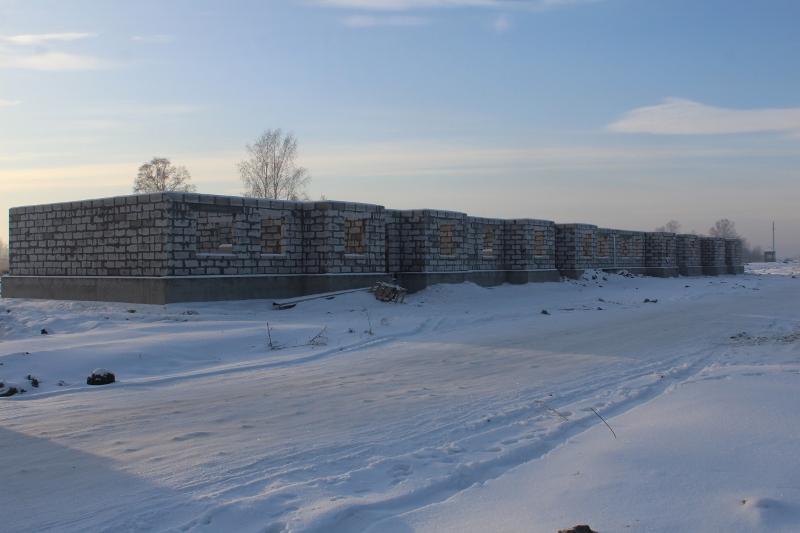 Многоквартирный жилой дом по адресу: квартал Согласия, 2. Вид на дворовой фасад.
