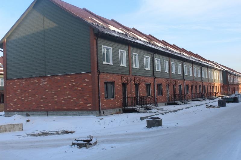 Жилой дом по ул. Парковая, 10. Вид на главный фасад. Скоро начнем лить стяжки пола.