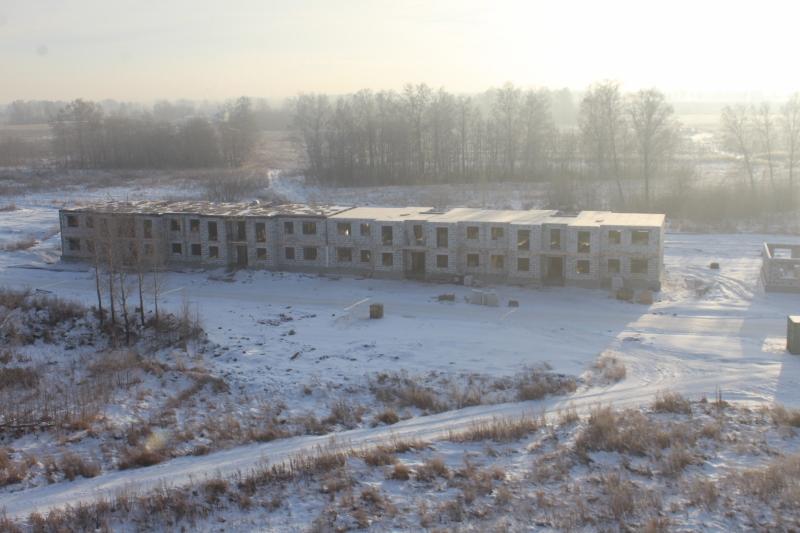 Многоквартирный жилой дом по адресу: квартал Согласия, 1. Вид сверху.