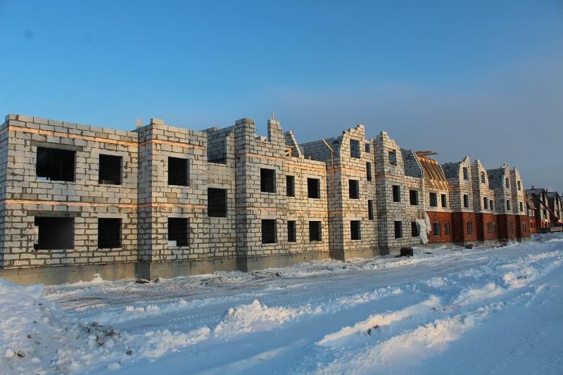 квартал Согласия,1. Вид на главный фасад.