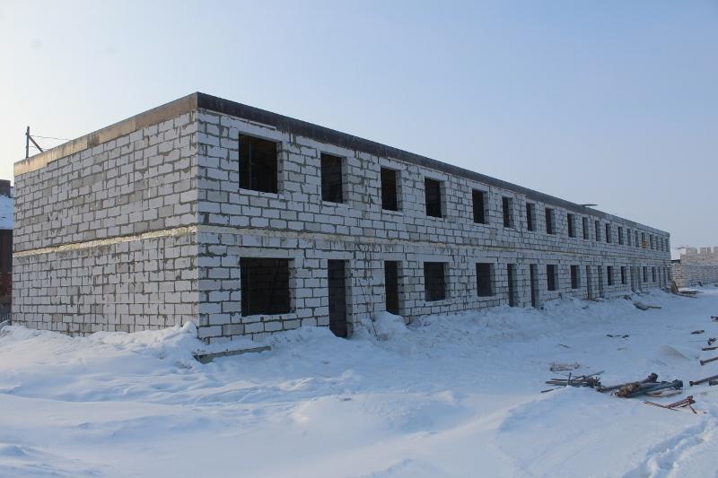 Жилой дом по ул. Вадима Туманова, 4а. Вид на главный фасад.