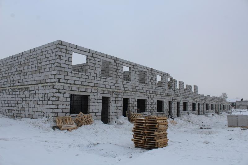Жилой дом по ул. Вадима Туманова, 4а. Зашли сибитчики на второй этаж.