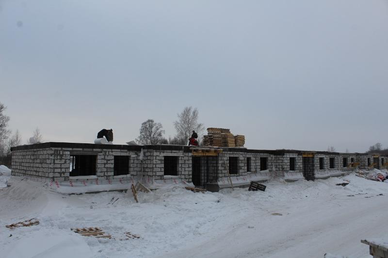 Квартал Согласия, 2. Приняли бетон на перекрытие половины первого этажа дома.