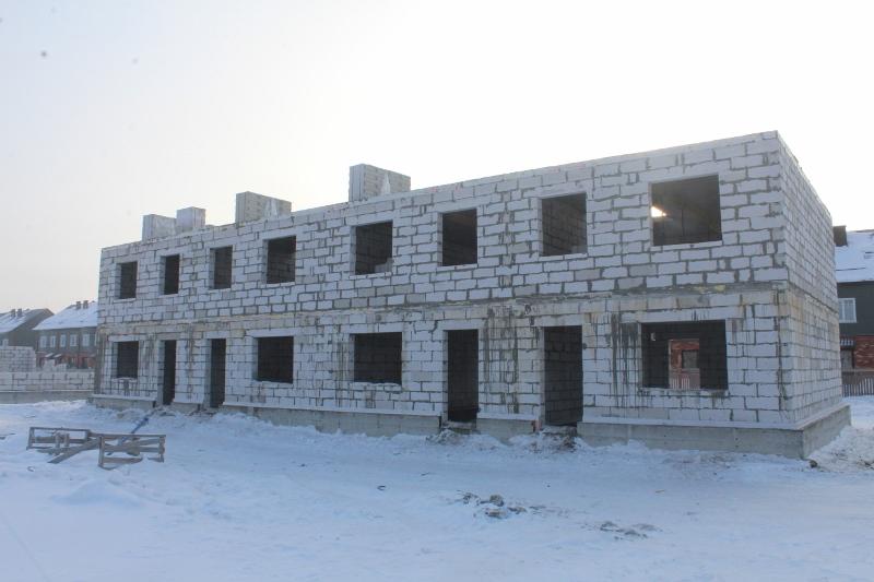 Жилой дом по ул. Вадима Туманова, 2а. Залили последнее монолитное перекрытие на этом доме.