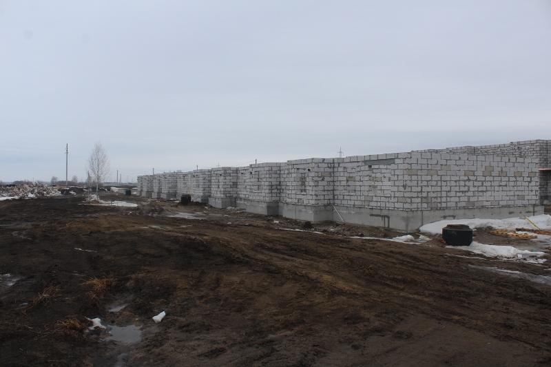 квартал Согласия, 3. Скоро зайдут бетонщики на монолитное перекрытие первого этажа.