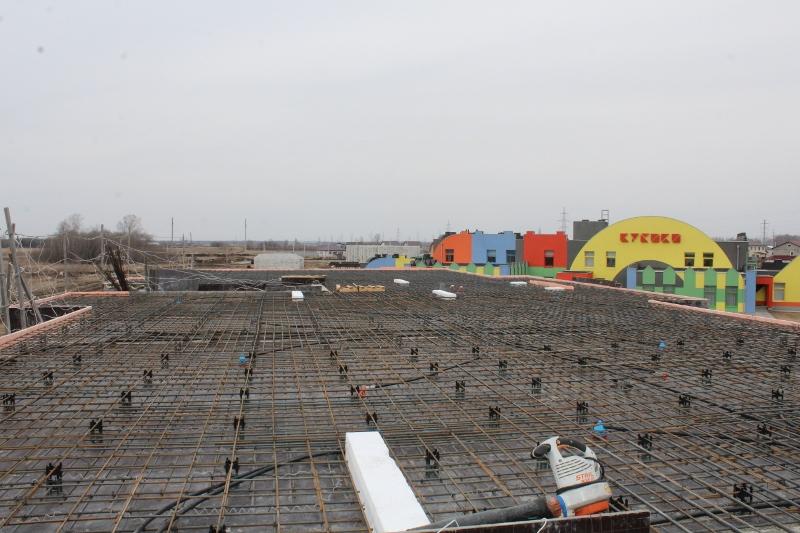 квартал Согласия, 2. Все готово для приемки бетона на перекрытие, сегодня заливаем.