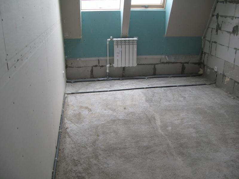 квартал Согласия, 1. Подготовили основание в квартирах для устройства стяжек.