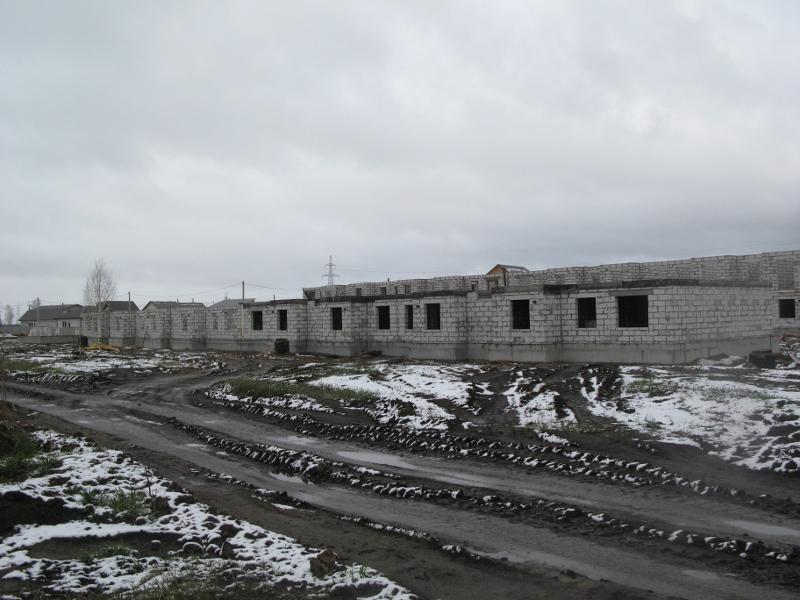 квартал Согласия, 3. Устройство монолитного перекрытия первого этажа на первой половине дома.