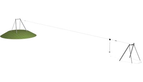 А это проектный вид «Канатной дороги»