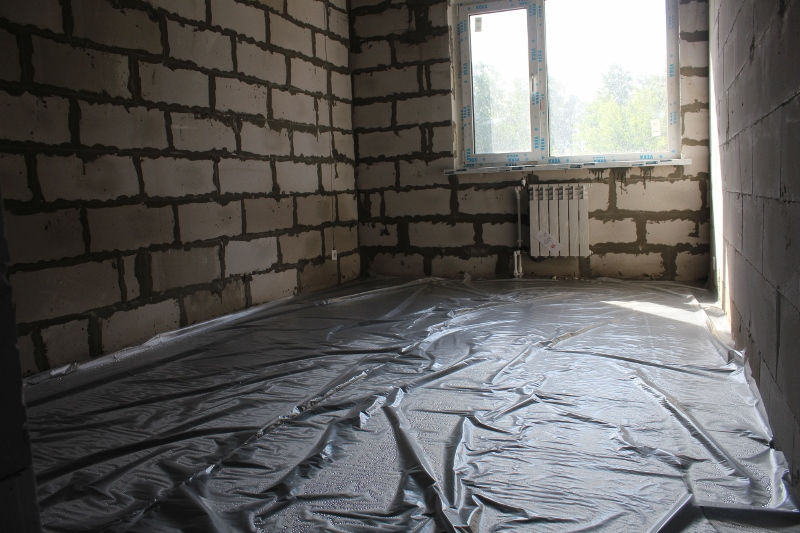 квартал Согласия, 1. Бережно укрытые стяжки в квартирах.