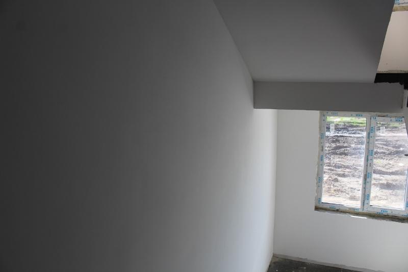квартал Согласия, 1. Стены в подъезде готовы к покраске.