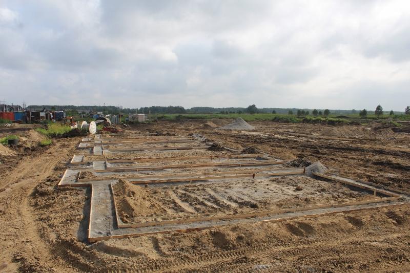 Почти все готово для приема бетона на подготовку для фундамента на квартале Форда, 6.