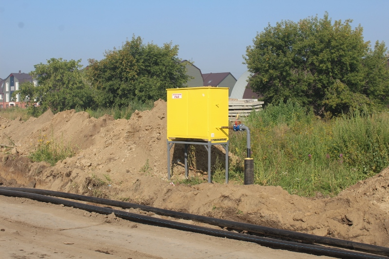 Установили еще 2 шт. ГРПШ на квартале Форда и Сегаловича.
