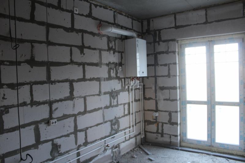 квартал Согласия, 2. Установили газовые котлы в квартирах, скоро будет газ.