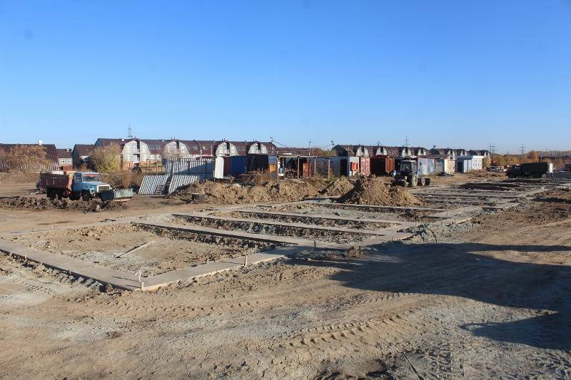 Выполнили бетонную подготовку на многоквартирном доме квартал Форда, 8.