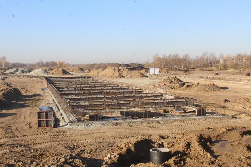 Жилой дом на квартале Сегаловича, 1. Армируем будущий фундамент.